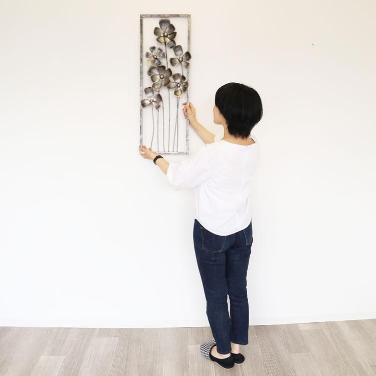 壁掛けインテリア ウォールアートパネル花01
