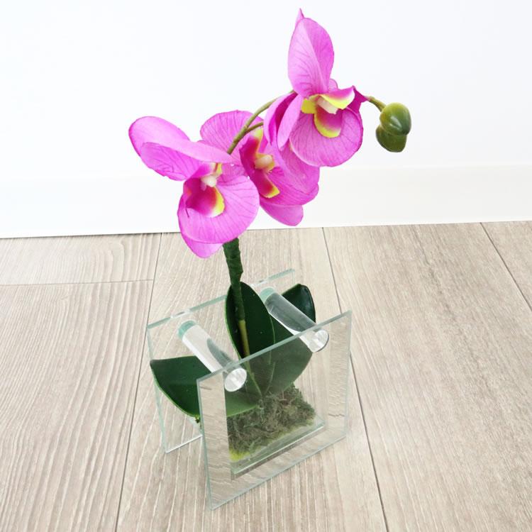 置物 造花インテリア004