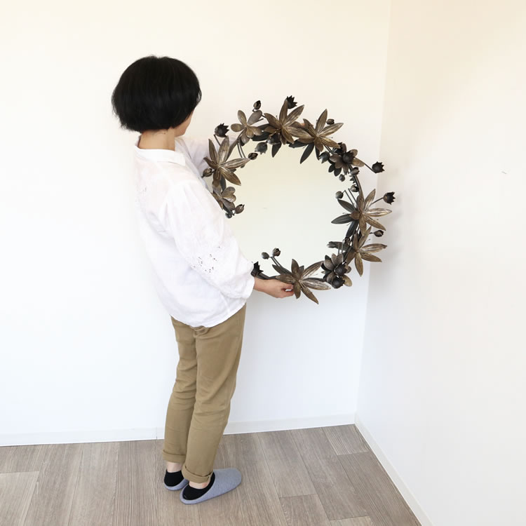 鏡   壁掛けミラーA