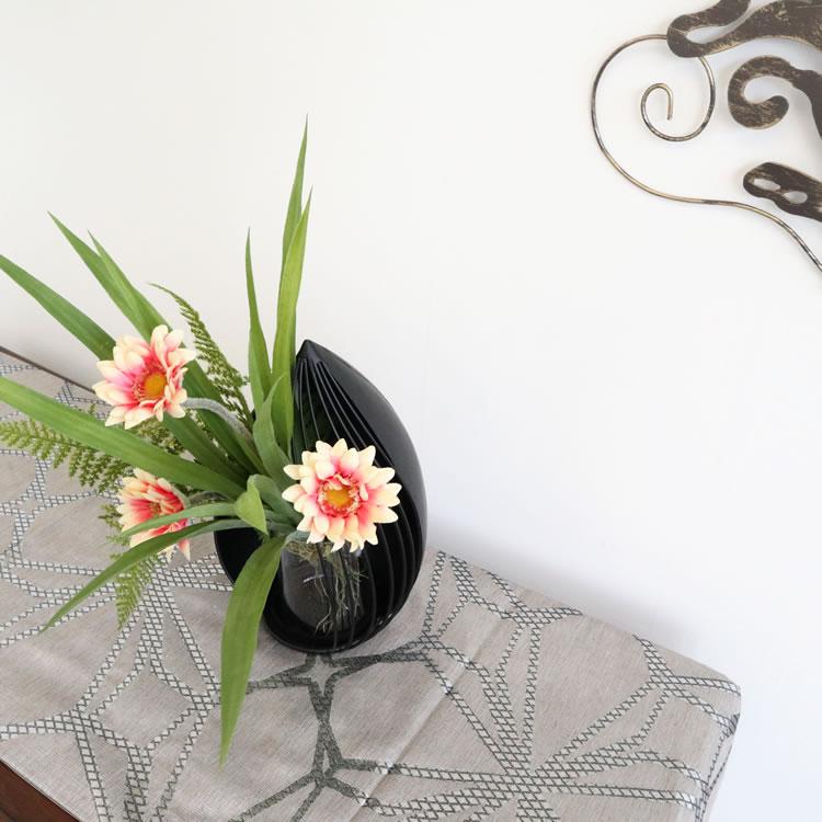 モダンテイスト アイアンフラワーベース(花瓶)