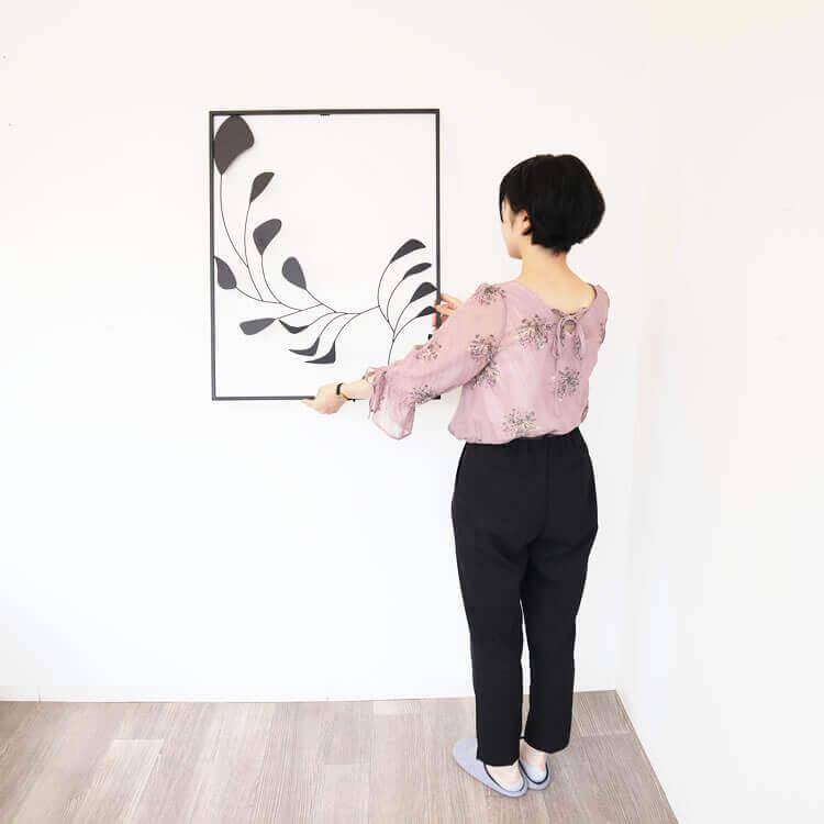 壁 インテリア おしゃれ | 壁掛けインテリア アートパネルモノトーンJ