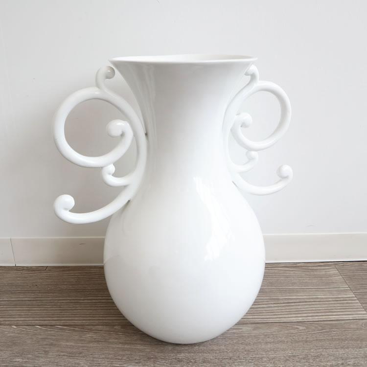 フラワーベース(花瓶) ホワイト