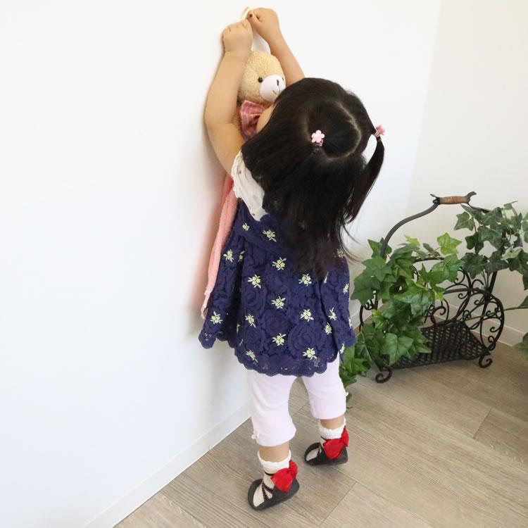 子供が喜ぶタオルハンガー ピンク002