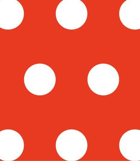デザインWAXペーパー (50枚入) スタンダードサイズ ポルカドット(赤) PG-93