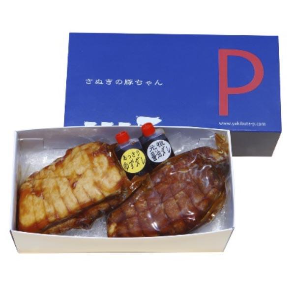 焼き豚P 焼豚セット(バラ肉・モモ肉)