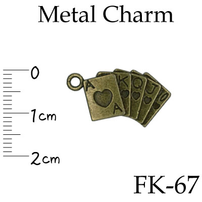 FK-67(ファスナー飾り1ケ入)