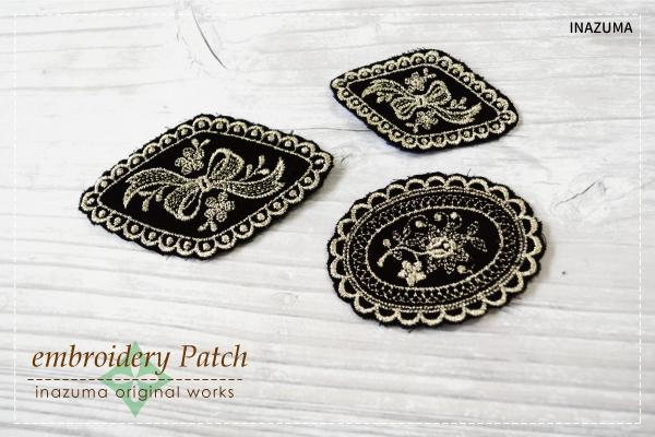 SG-EPA01,02(刺繍の飾りワッペン 1ケ)
