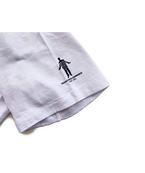 《SALE》Printed Cross Crew Neck T-shirt - Music[GH087]【2020SS】