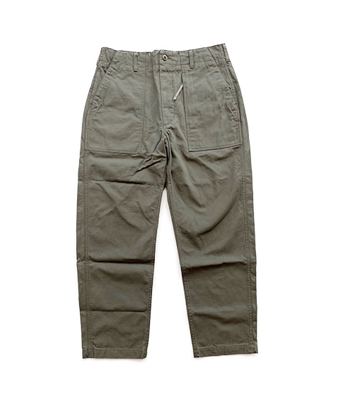 Fatigue Pant - Heavyweight Cotton Ripstop[JL189]Olive【2021AW】【SOLDOUT】
