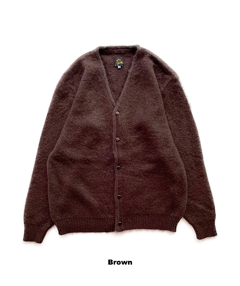 Mohair Cardigan - Solid[JO259]Brown【2021AW】
