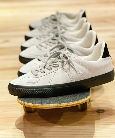 REPRODUCTION OF FOUND for GP GERMAN MILITARY TRAINER/MODIFIED. SKATEBOADING[GM213-90151]【2021AW】