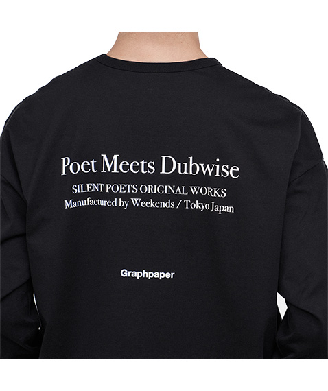 """Poet Meets Dubwise for GP Jersey L/S Tee """"SUN""""[GM204-70182]【2020AW】"""