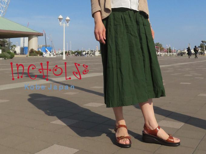 【2021夏新作】セパレートベルトサンダル☆No.4166☆本革☆日本製