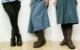 【INCHOLJE-インコルジェ-】この柔らかさは驚きです!バックリボンソフトミドルブーツ☆本革☆日本製☆No.8466【甲高・幅広・外反母趾さん必見!】