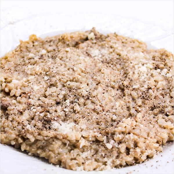 インクローチリゾット キノコクリームソース トリュフ風味