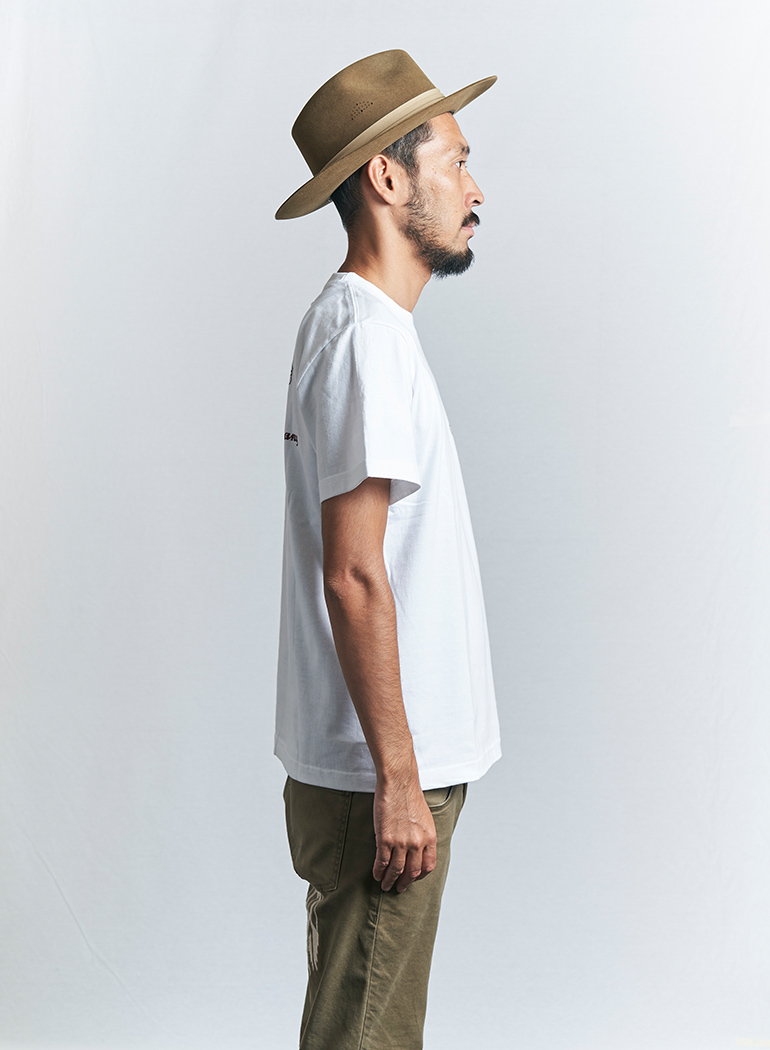 """インディアン ベーシック Tシャツ """"ヘッドマーク"""""""