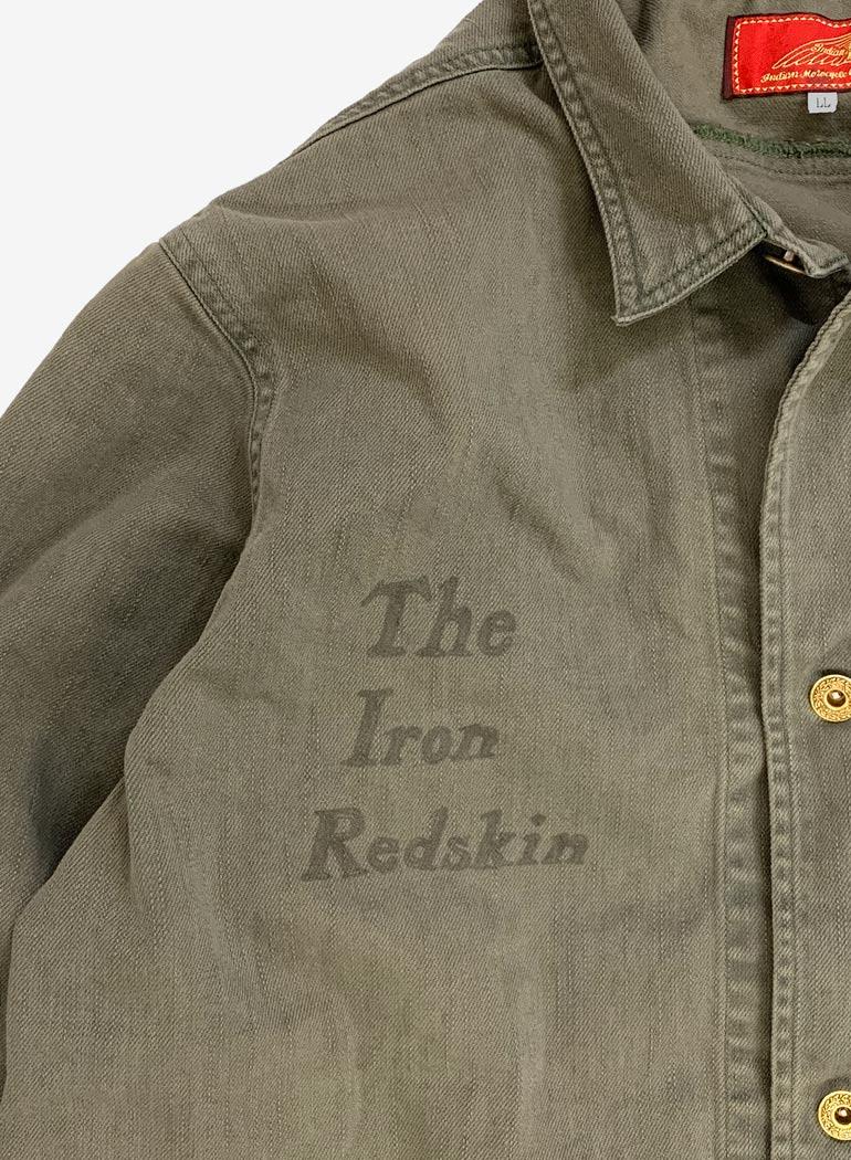 """Iron Redskin"""