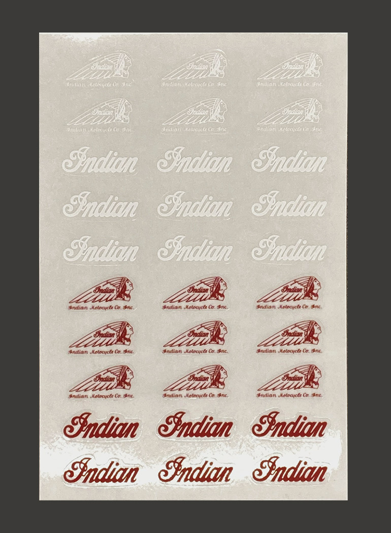 インディアン ステッカー シート