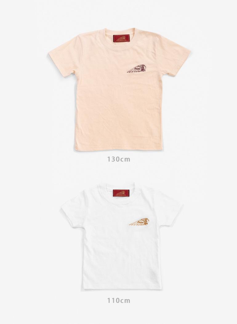 "Indian Basic S/S T-shirt ""Headmark Logo"""