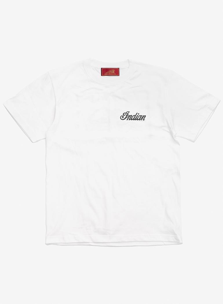 "Indian Basic S/S T-shirt ""Vintage Goods"""