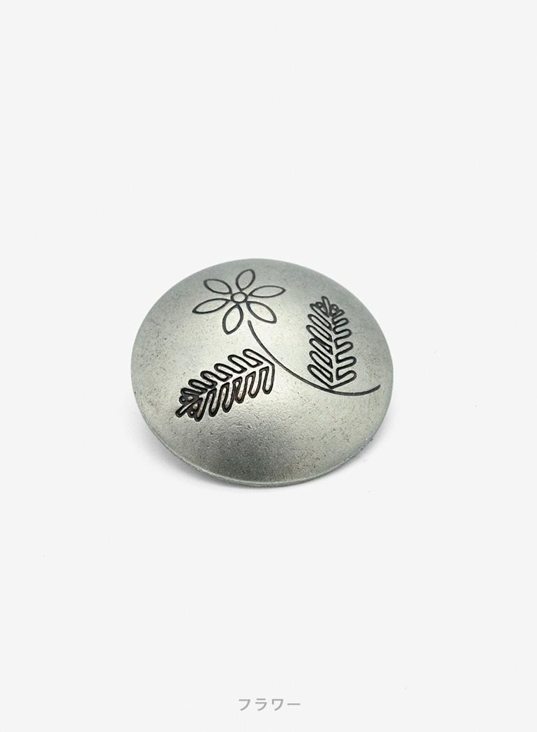 Indian Original Concho Button
