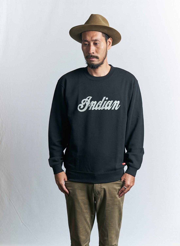 インディアン ベーシック スウェット (ロゴ) 【1月下旬再入荷予定】