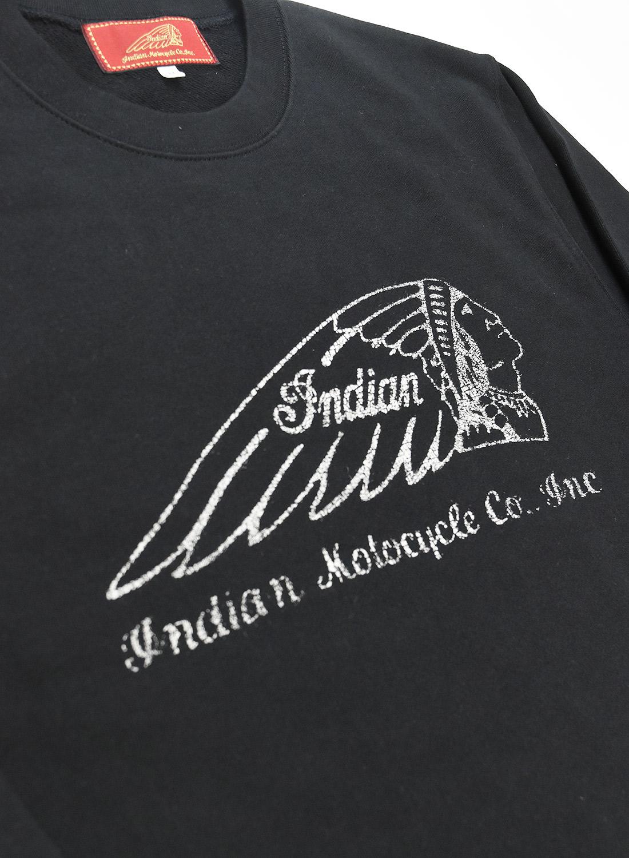 インディアン ベーシック スウェット (ヘッドマーク)