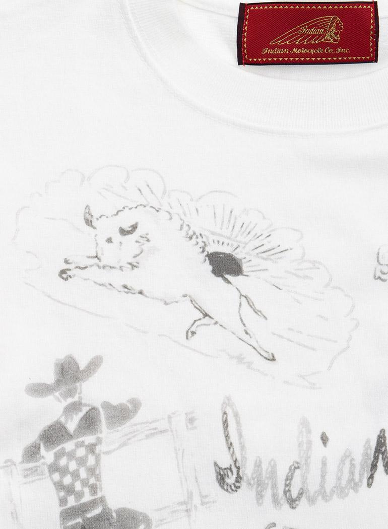 "【TC対象商品】 Hand Painting Tee ""Wild West"""