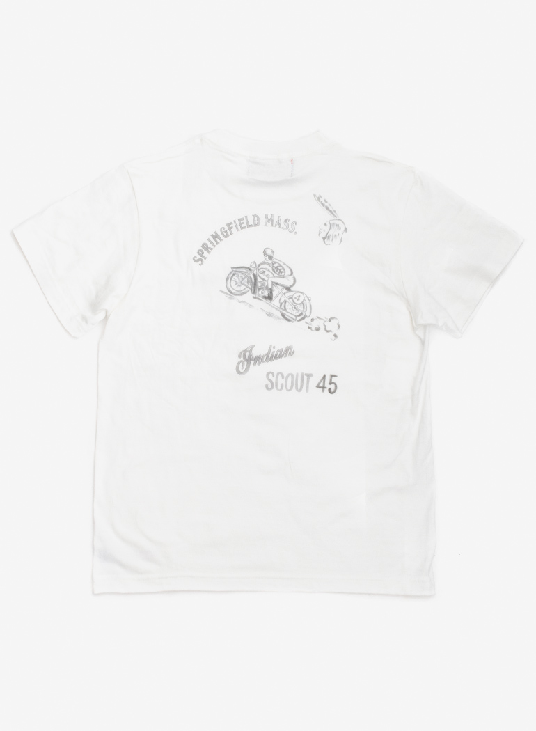 """【TC対象商品】 Hand Painting Tee """"SCOUT 45"""""""