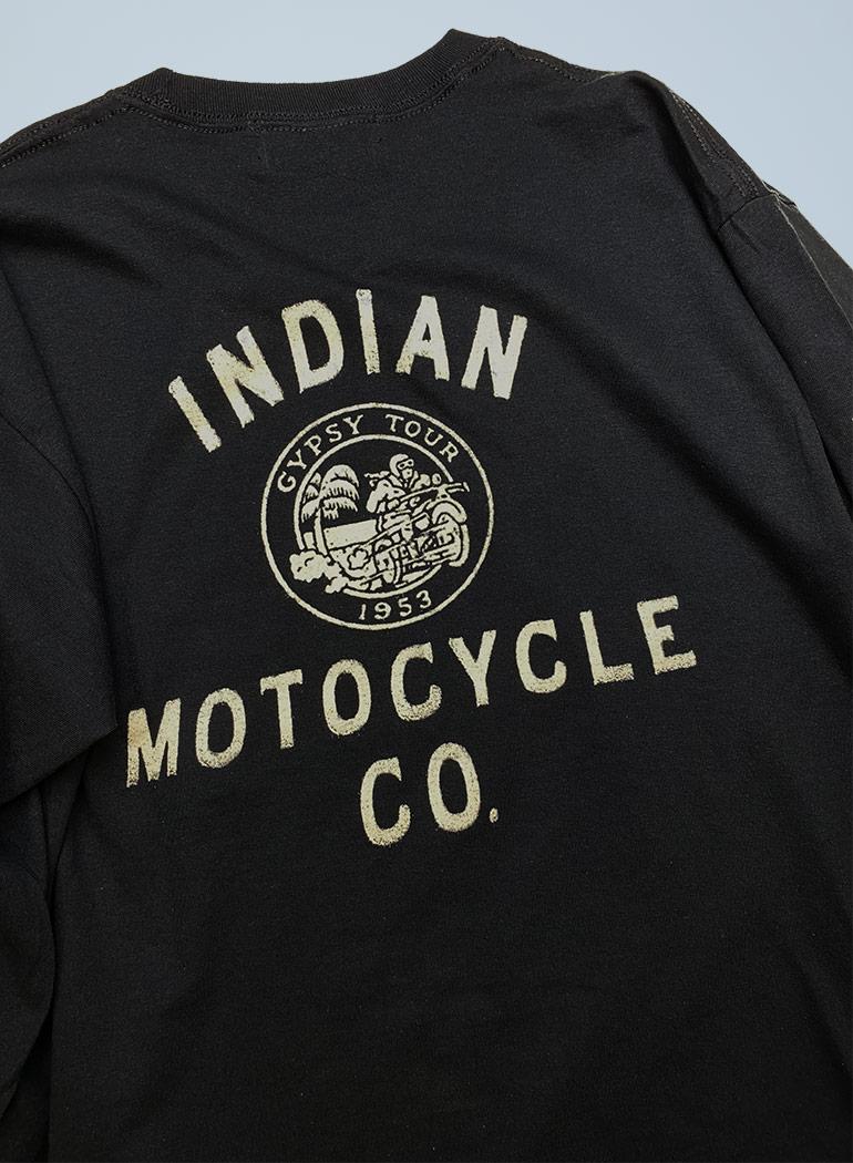 """ロングスリーブ Tシャツ """"MOTOCYCLE"""""""