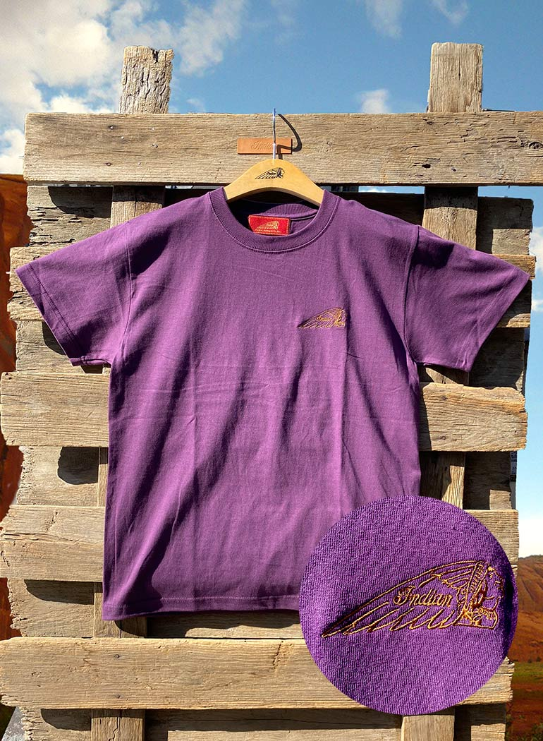 """インディアン 12 color Tシャツ """"ヘッドマーク"""""""