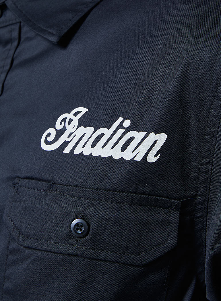 Indian Works ワークシャツ ロングスリーブ
