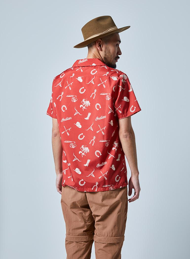 オープンカラーシャツ -WESTERN-