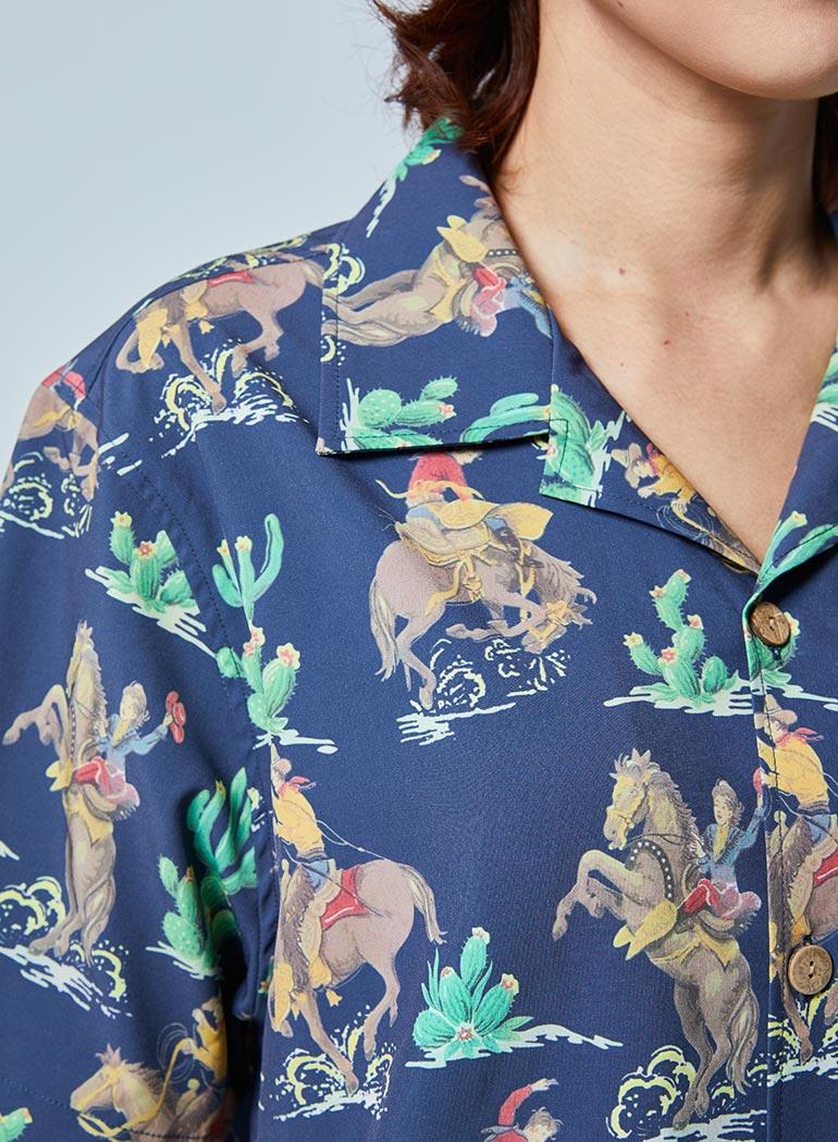 オープンカラーシャツ -RODEO-