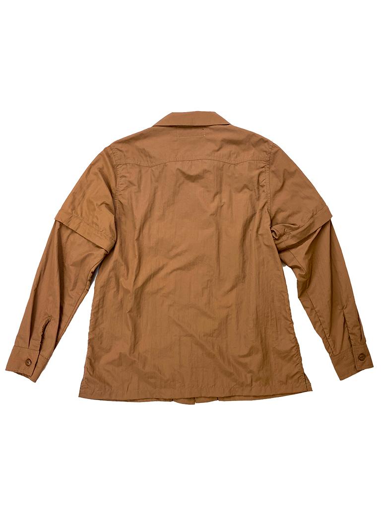 ナイロン 2WAY ワークシャツ