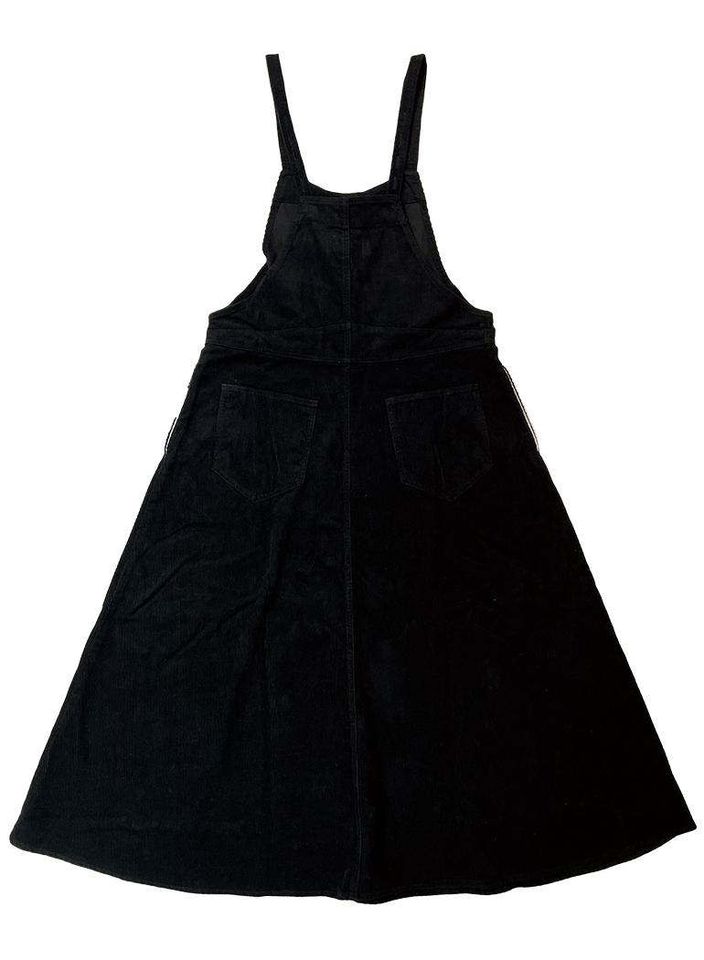 コーデュロイ ジャンパースカート