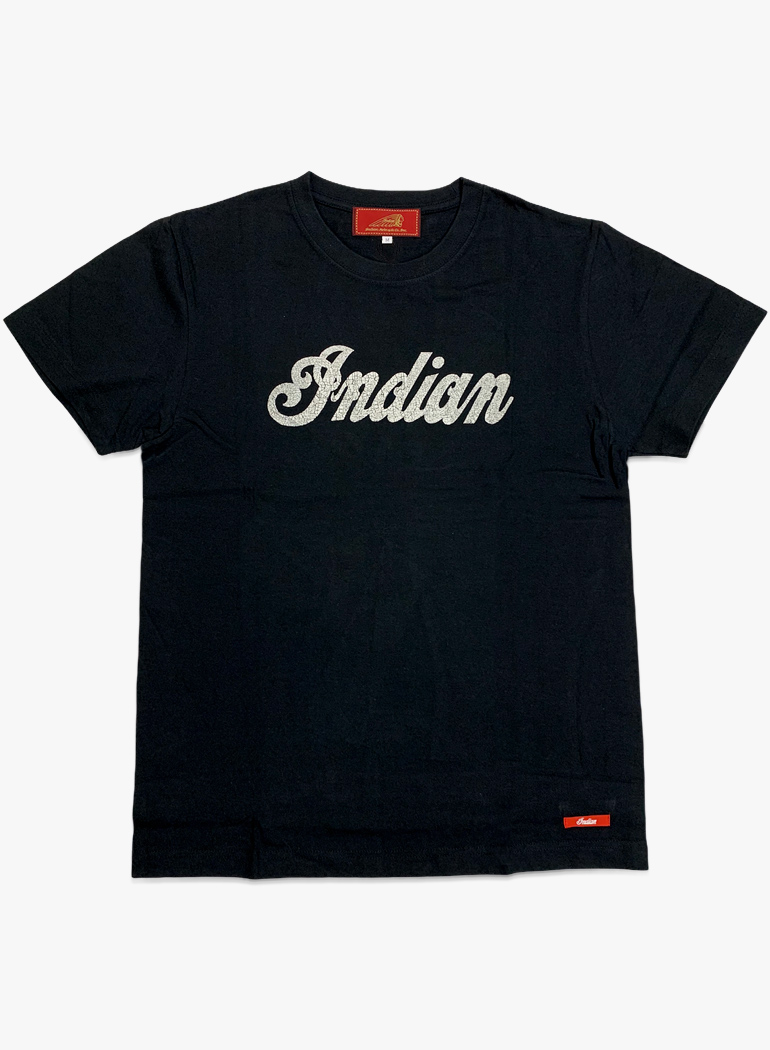 """インディアン ベーシック Tシャツ """"ロゴ"""""""