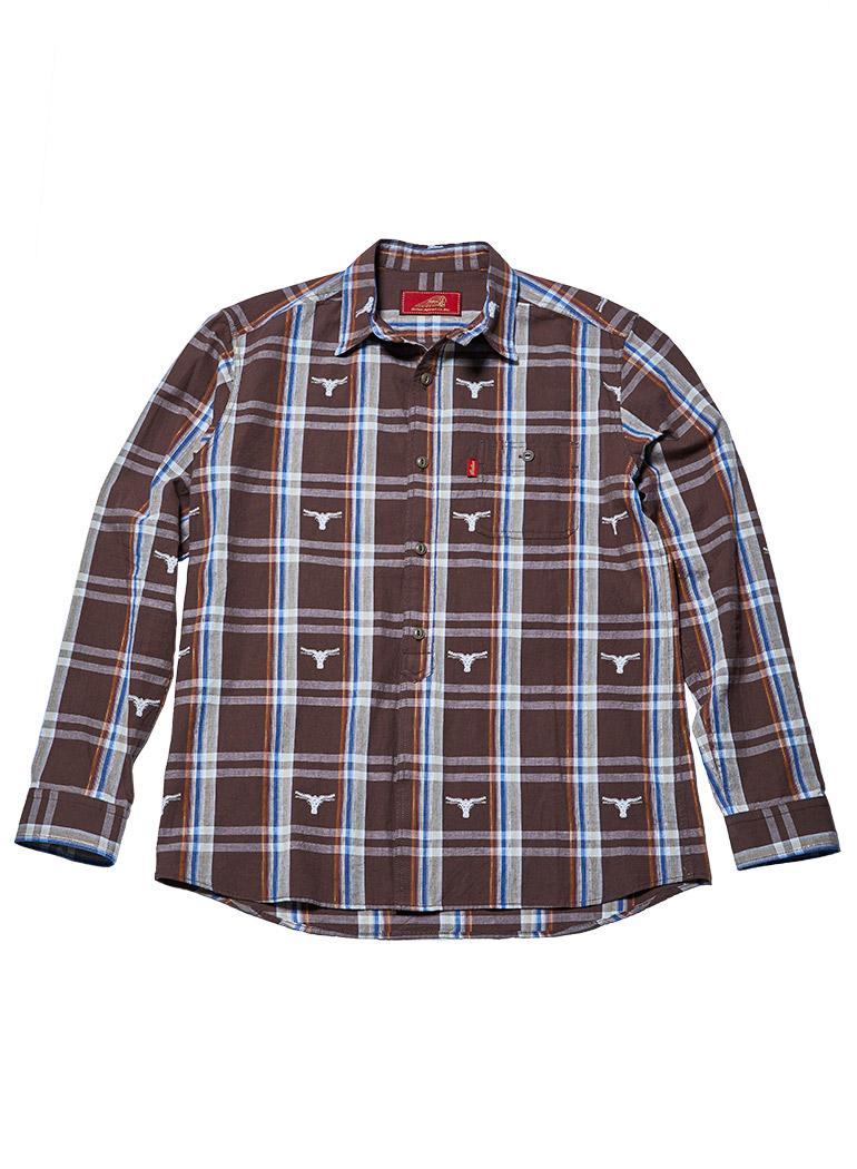 バッファロードビーチェック ワークシャツ