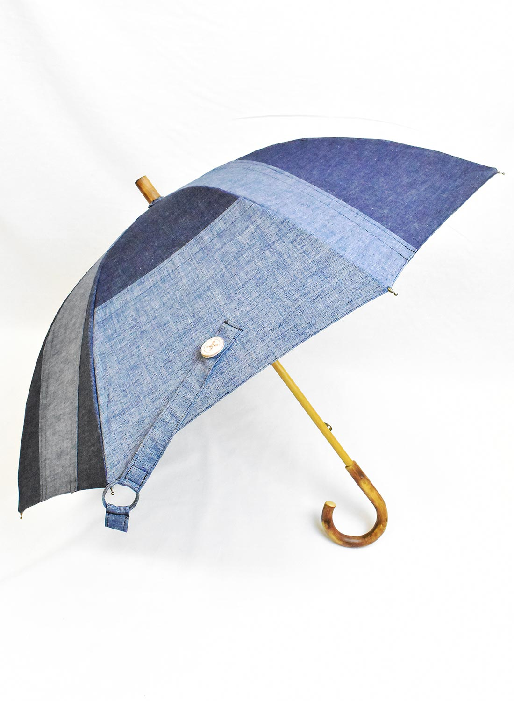 Indian×+RING (プラスリング) コラボ 晴雨兼用 デニム傘
