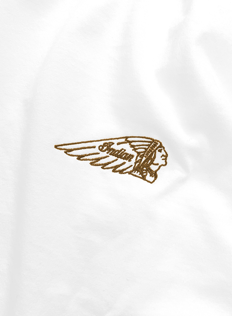 "Indian Basic L/S T-shirt ""Headmark Logo"""