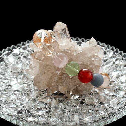 【ブラジル産】水晶クラスター【BRZ0007】