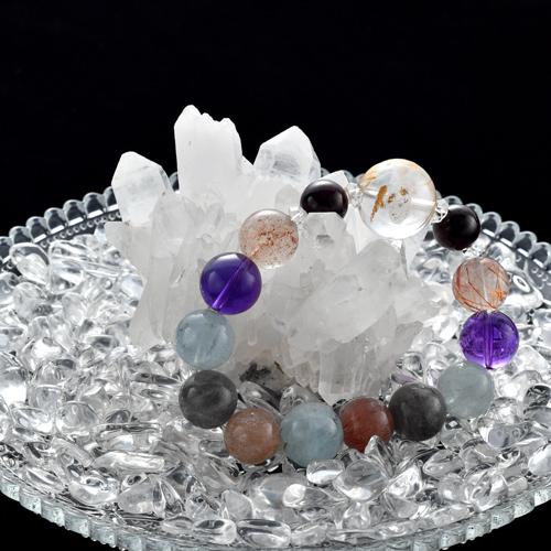 【マダガスカル産】水晶クラスター【MGK0001】