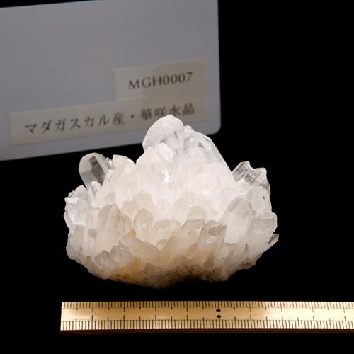 【マダガスカル産】華咲水晶クラスター【MGH0007】