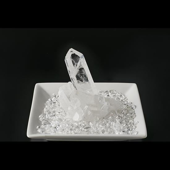 【モンゴル産】水晶クラスター&さざれ石200g【MNG0002】