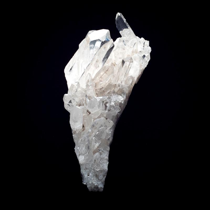 【カンチェンジュンガヒマラヤ産】水晶クラスター【KCJ0038】