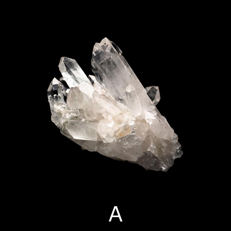 【トマスゴンザガ産】水晶クラスター・2点セット【TMZ0004】