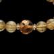 【小池浩セレクト】ゴールドタイチンルチルクォーツ・AAA(3Aランク)・ブレスレット・サイズ約17cm【KHS0045】