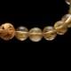 【小池浩セレクト】超美品ゴールドタイチンルチルクォーツ・ブレスレット・AAAAA(4Aランク)・サイズ約16cm【KHS0047】