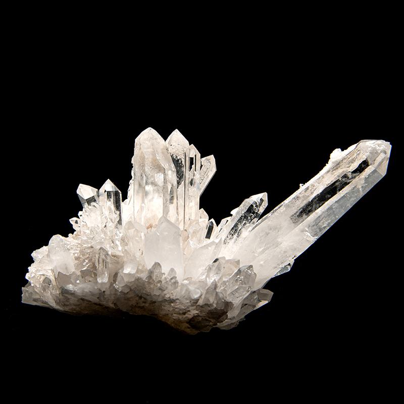 【カンチェンジュンガヒマラヤ産】水晶クラスター【KCJ0070】