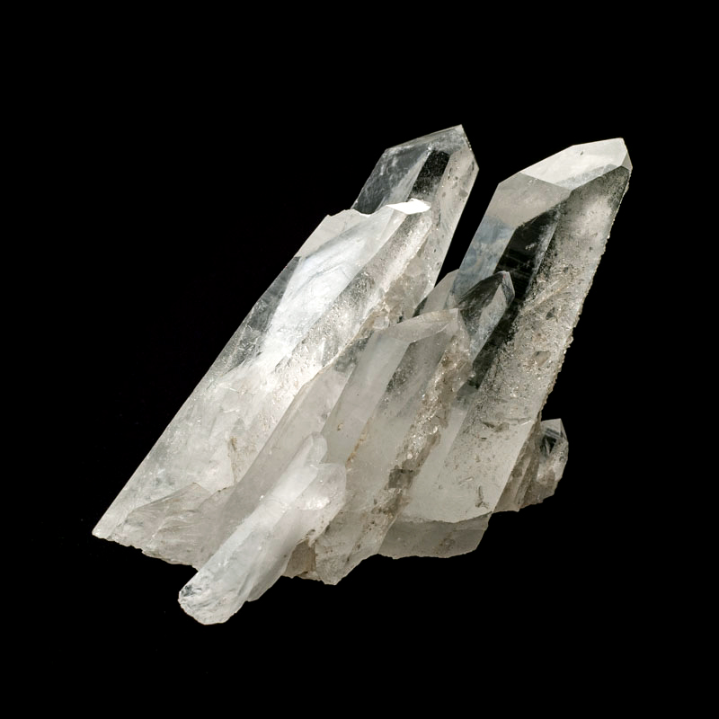 【カンチェンジュンガヒマラヤ産】水晶クラスター【KCJ0075】